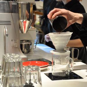 Заваривание кофе через фильтр