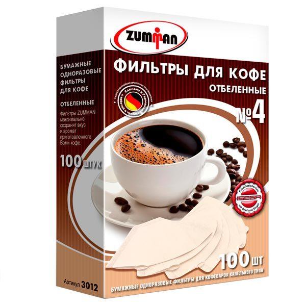 бумажные фильтры для кофемашины